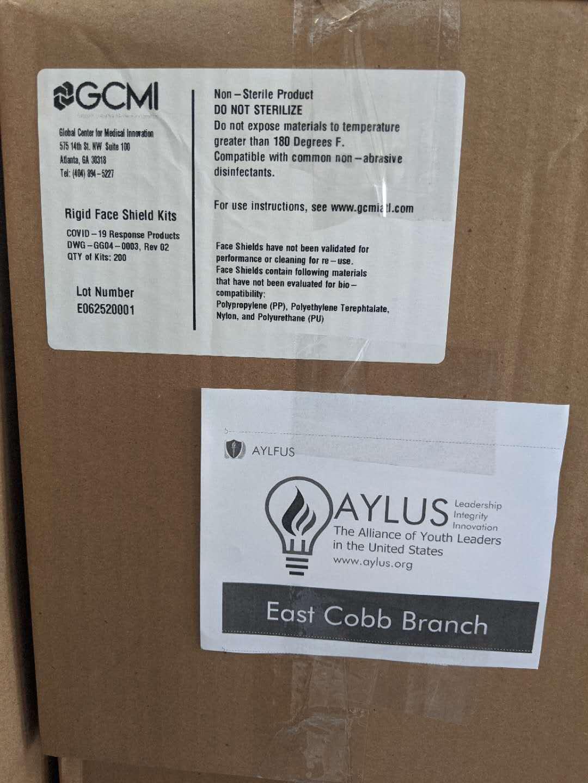 East Cobb Branch Donate Shield Masks to Douglas Public ...